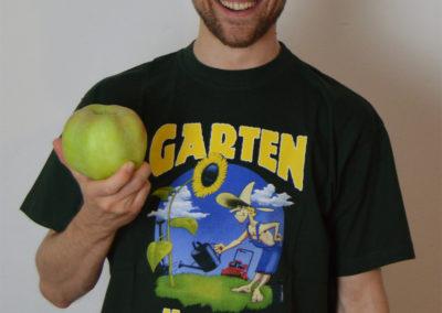 Der kleinste Apfel? Kommt halt immer auf die Perspektive an!